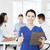 счастливым · врач · команда · клинике · профессия - Сток-фото © dolgachov