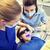 vrouwelijke · tandartsen · patiënt · meisje · tanden · mensen - stockfoto © dolgachov