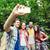 друзей · рюкзак · смартфон · технологий · путешествия - Сток-фото © dolgachov