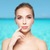 cute · jonge · vrouw · vinger · lippen · portret · mooie - stockfoto © dolgachov