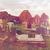 calabazas · cementerio · iglesia · ruinas · nubes · feliz - foto stock © dolgachov