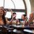 Freunde · Smartphones · Bier · bar · Veröffentlichung · Menschen - stock foto © dolgachov