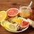 zenzero · tè · miele · aglio · legno - foto d'archivio © dolgachov