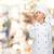 souriant · Homme · chef · délicieux · signe - photo stock © dolgachov