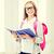 школьница · чтение · книга · класс · школы · образование - Сток-фото © dolgachov
