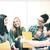 studentów · śmiechem · szkoły · edukacji · kawy - zdjęcia stock © dolgachov