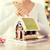 készít · mézeskalács · kekszek · közelkép · szív · alakú - stock fotó © dolgachov