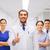 pielęgniarki · lekarza · zespołu · szczęśliwy · uśmiechnięty - zdjęcia stock © dolgachov