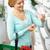 женщину · корзины · цветочный · горшок · магазин · люди - Сток-фото © dolgachov