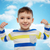 mutlu · gülen · küçük · erkek · el - stok fotoğraf © dolgachov