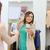 kadın · giyim · depolamak · kız · mutlu - stok fotoğraf © dolgachov
