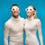 çift · izlerken · 3D · film · tatlı - stok fotoğraf © dolgachov