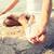 adam · yoga · sahil · meditasyon · gökyüzü · su - stok fotoğraf © dolgachov