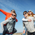 gelukkig · gezin · zonnebril · buitenshuis · zomer · vakantie - stockfoto © dolgachov
