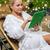relajarse · lujo · spa · belleza · mujer · blanco - foto stock © dolgachov