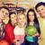 szczęśliwy · znajomych · bowling · klub · ludzi · wypoczynku - zdjęcia stock © dolgachov