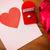 meglepetés · rózsák · valentin · nap · fickó · szív · boxeralsó - stock fotó © dolgachov