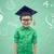 bacharel · seis · óculos · infância · escolas - foto stock © dolgachov