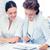 equipo · de · negocios · de · trabajo · manos · financiar · contabilidad - foto stock © dolgachov