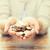 貧困 · 古い · 手 · コイン · 25 · お金 - ストックフォト © dolgachov