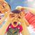 gyerekek · készít · arcok · fiú · lány · együtt - stock fotó © dolgachov