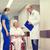 hospital · idoso · paciente · jovem · médico · confirmação - foto stock © dolgachov