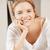 gelukkig · glimlachend · tienermeisje · heldere · foto · vrouw - stockfoto © dolgachov