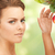 lovely woman with apple twig stock photo © dolgachov