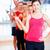 grup · zâmbitor · oameni · gantere · sală · de · gimnastică · fitness - imagine de stoc © dolgachov