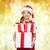 pequeño · presenta · cajas · partitura · rojo - foto stock © dolgachov