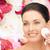 vrouw · schoonmaken · gezicht · katoen · mooie · vrouw · mooie - stockfoto © dolgachov
