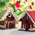 closeup of beautiful gingerbread house at home stock photo © dolgachov