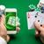 kumarhane · oyuncu · kartları · cips · çevrimiçi - stok fotoğraf © dolgachov