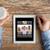 közelkép · férfi · kezek · táblagép · kávé · üzlet - stock fotó © dolgachov