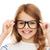 девочку · черный · очки · образование · школы · видение - Сток-фото © dolgachov