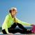 kadın · spor · açık · havada · spor · yaşam · tarzı · deniz - stok fotoğraf © dolgachov