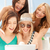 sonriendo · ninas · mirando · Servicio · verano - foto stock © dolgachov