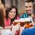 amigos · óculos · bebidas · restaurante · festa · celebração - foto stock © dolgachov
