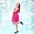 幸せ · 小さな · プラスサイズ · 女性 · 送信 - ストックフォト © dolgachov