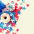 boldog · negyedike · kreatív · fotó · csillagok · zászlók - stock fotó © dolgachov