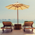 couple · plage · vacances · parasol · séance · soleil - photo stock © dolgachov