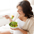 幸せ · 妊婦 · ボウル · サラダ · 妊娠 · 母性 - ストックフォト © dolgachov