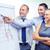 equipo · de · negocios · bordo · debate · negocios · dinero · oficina - foto stock © dolgachov