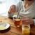 женщину · имбирь · чай · лимона · здоровья - Сток-фото © dolgachov