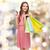 笑顔の女性 · ショッピングバッグ · クレジットカード · ショッピング · 販売 · 銀行 - ストックフォト © dolgachov