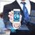ビジネスマン · スマートフォン · 世界中 · ホログラム · ビジネス - ストックフォト © dolgachov