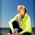 女性 · スポーツ · 屋外 · スポーツ · フィットネス - ストックフォト © dolgachov