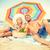 tengerpart · vakáció · pár · megnyugtató · napozás · nyár - stock fotó © dolgachov
