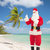 homem · seis · praia · tropical · natal · férias - foto stock © dolgachov