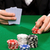 Blackjack · Spielkarten · Casino · Hand · Club - stock foto © dolgachov